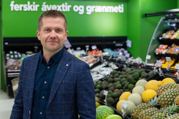 Gunnar Egill Sigurðsson, framkvæmdastjóri verslunarsviðs Samkaupa