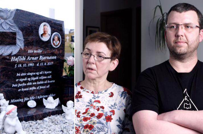 Fjölskylda Arnars opnaði sig í þættinum.