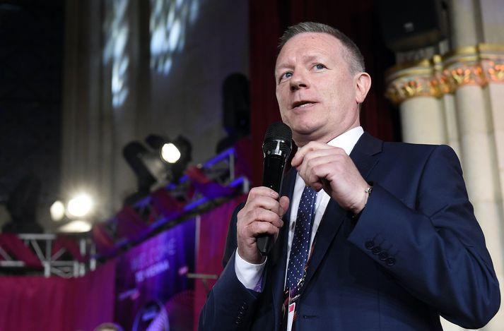 Jon Ola Sand framkvæmdastjóri Eurovision.