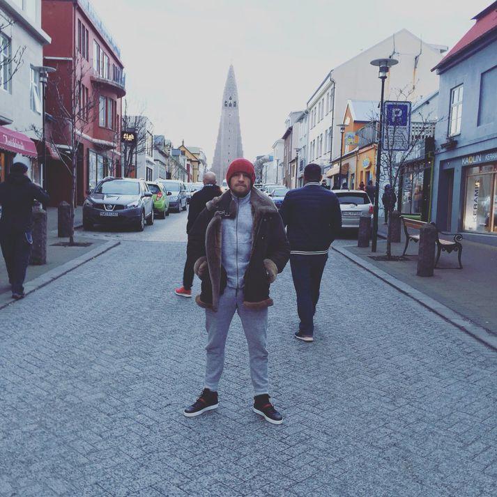 Conor er væntanlegur aftur til Íslands.