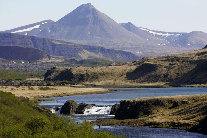 Norðurá opnar fyrir veiðimönnum á mánudaginn.