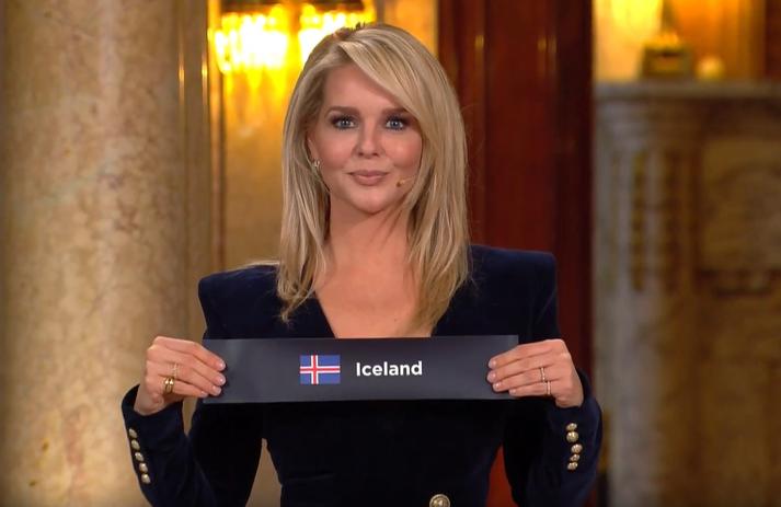 Þegar Ísland kom upp úr skálinni í Rotterdam.