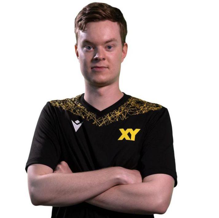Gísli Geir Gíslason, eða Triple G, var maður leiksins þegar XY vann Exile í gær.