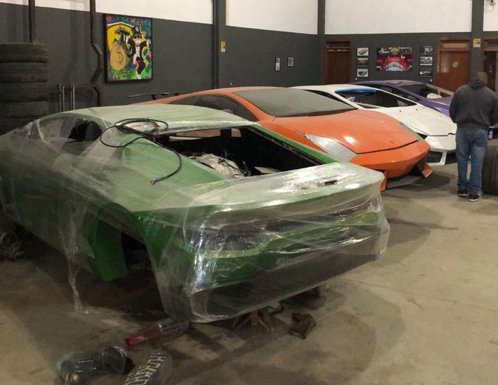 Falsaðir Lamborghini bílar í bígerð.