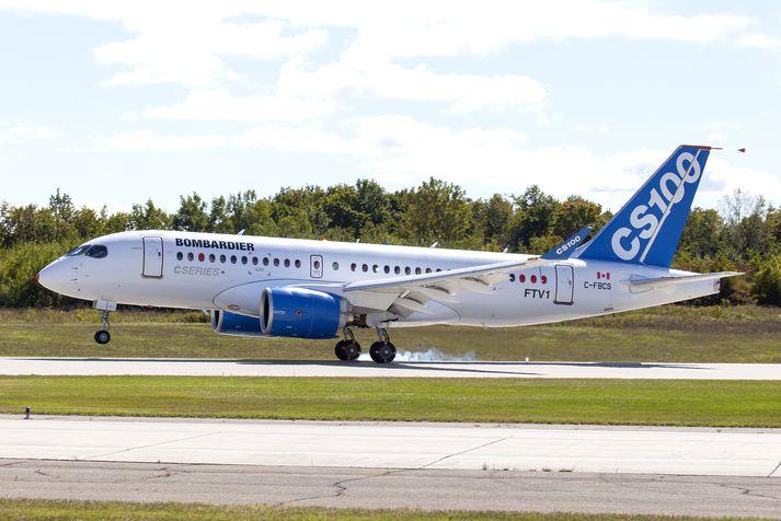 Bombardier er með umfangsmikla framleiðslu í Belfast, höfuðborg Norður-Írlands.