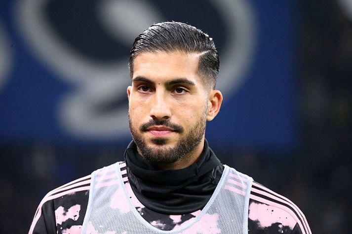 Emre Can, miðjumaður Juventus, gæti verið á leið aftur til Englands.