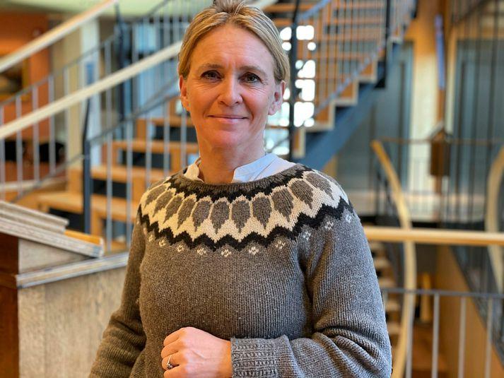 Þorgerður Katrín Gunnarsson formaður Viðreisnar.