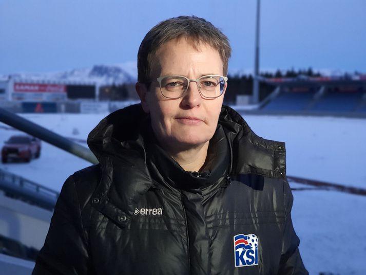Klara Bjartmarz framkvæmdastjóri KSÍ.