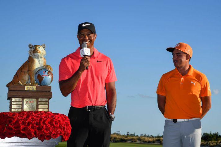 Tiger Woods hefur verið óheppin með meiðsli.