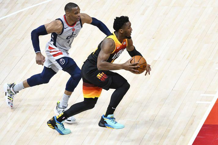 Utah Jazz tapaði sínum fyrsta heimaleik á árinu í nótt.