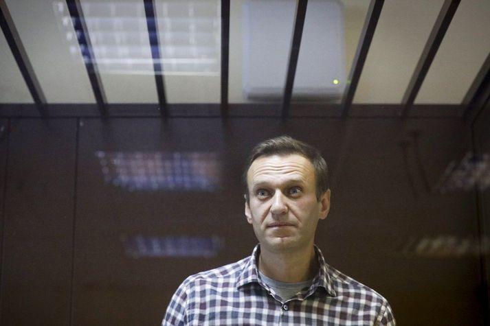 Alexei Navalní situr í fangelsi fyrir að rjúfa skilorð vegna umdeilds dóms frá 2014.