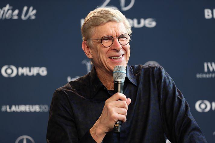 Wenger vinnur fyrir Alþjóða knattspyrnusambandið, FIFA, í dag.