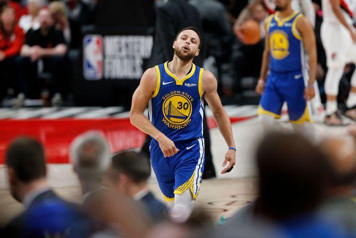 Steph Curry segir aldurinn farinn að segja til sín.