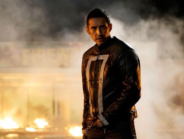 Gabriel Luna er hvað þekktastur fyrir að leika Ghost Rider í þáttunum Agents of Shield.