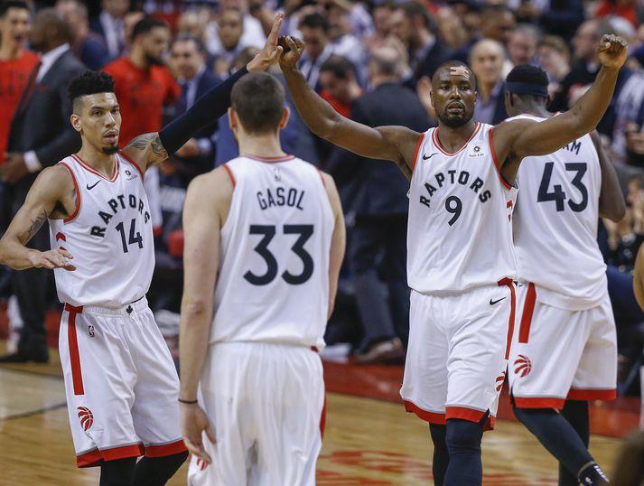 Toronto vann 36 stiga sigur á Philadelphia.