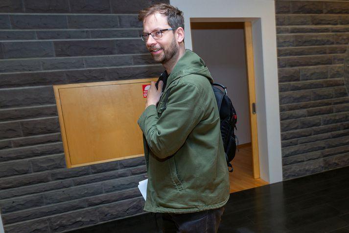 Björn Leví Gunnarsson fulltrúi Pírata í undirbúningskjörbréfanefnd
