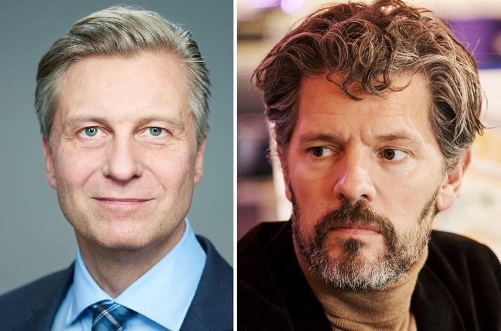Eyþór Arnalds og Dagur B. Eggertsson eru byrjaðir í kosningabaráttu fyrir komandi borgarstjórnarkosningar.