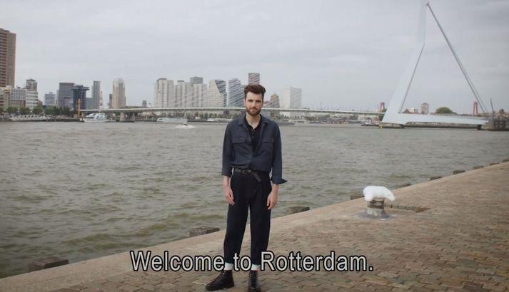 Eurovision verður haldin í Rotterdam í maí ná næsta ári.
