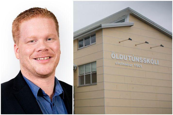 Valdimar Víðisson, skólastjóri Öldutúnsskóla.