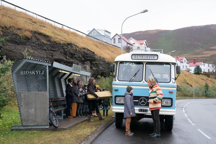 Kvikmyndin EUROVISION SONG CONTEST: The Story of Fire Saga var að stórum hluta tekin upp á Húsavík en myndin var framleidd af Netflix.