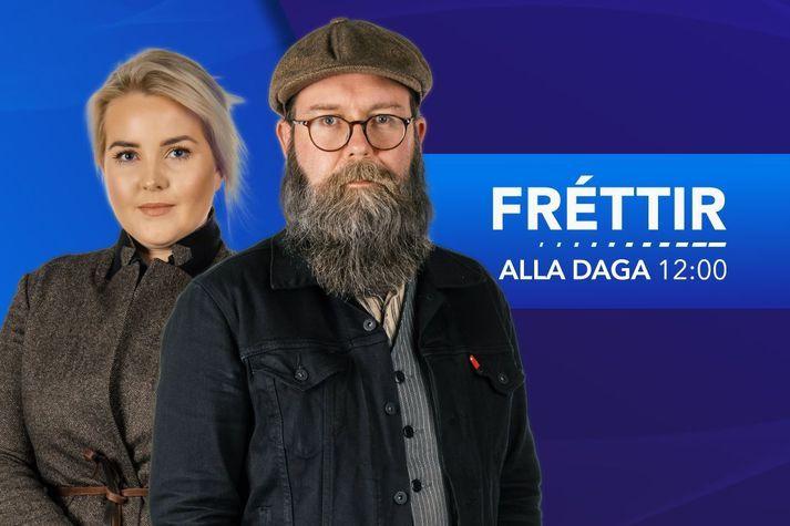 Hádegisfréttir Bylgjunnar eru á sínum stað klukkan tólf.
