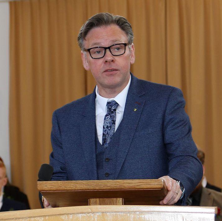 Jón Björn Hákonarson hefur að undanförnu gegnt stöðu bæjarstjóra Fjarðabyggðar.