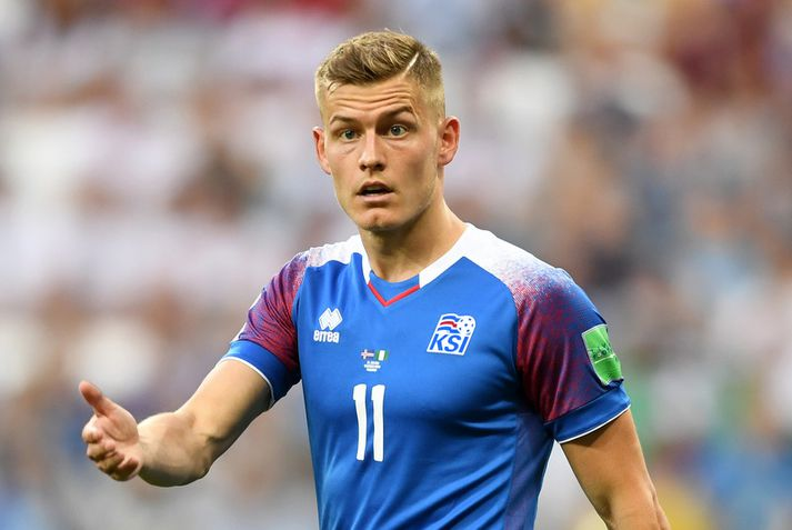 Alfreð Finnbogason.
