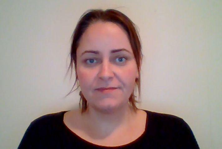 Karen Nótt Halldórsdóttir, skólastjóri i Grímsey.