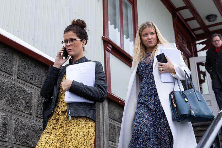 Þórdís Kolbrún Reykfjörð Gylfadóttir og Áslaug Arna Sigurbjörnsdóttir.