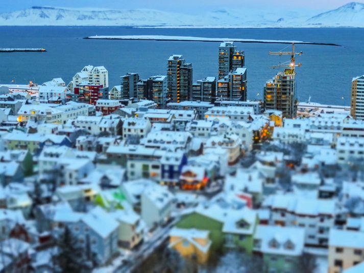 Þegar best lét var sala nýrra íbúða hátt í 40 prósent fasteignaviðskipta, en það var árið 2003.