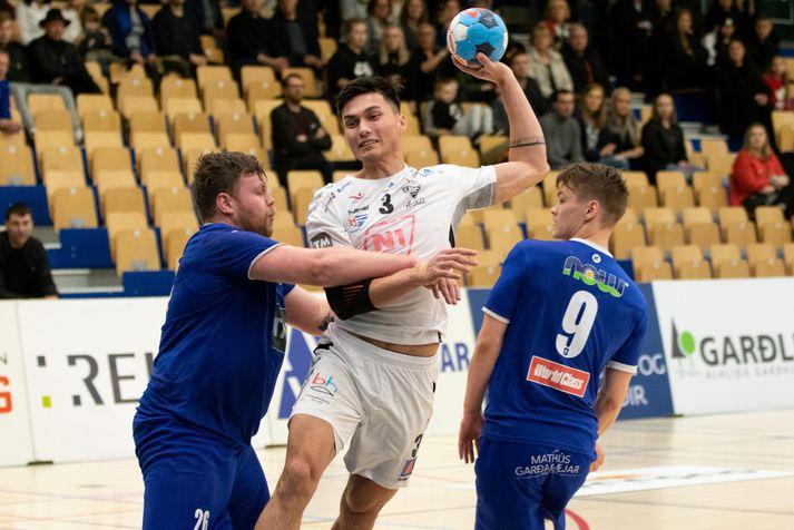 Kristján Örn lék með ÍBV áður en hann var seldur til Frakklands.