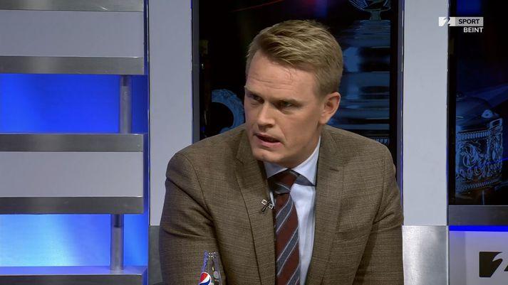 Hjörvar Hafliðason segir að Ágúst Gylfason fari pressulaus inn í sumarið.