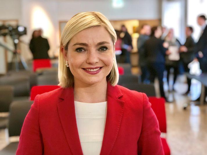 Lilja Alfreðsdóttir, mennta- og menningarmálaráðherra.
