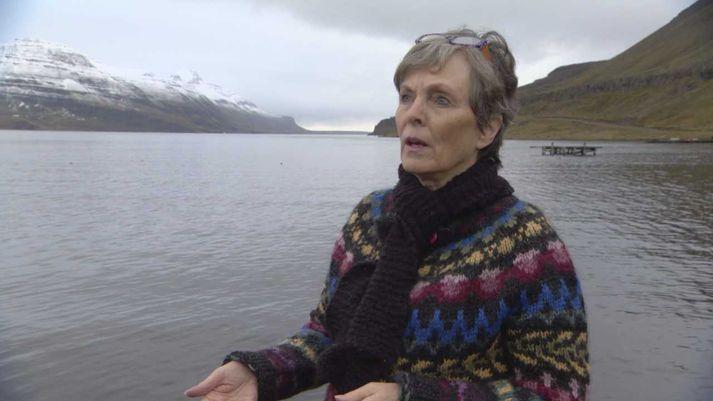 Eva Sigurbjörnsdóttir, oddviti Árneshrepps.