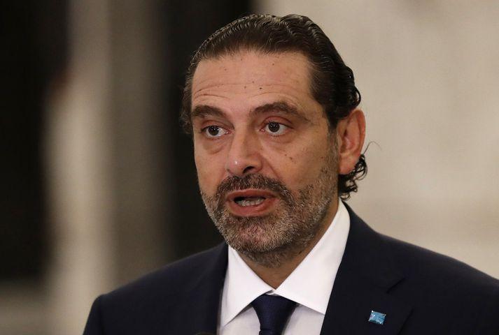 Saad Hariri, forsætisráðherra Líbanon, segist ætla að mynda nýja ríkisstjórn fljótt.
