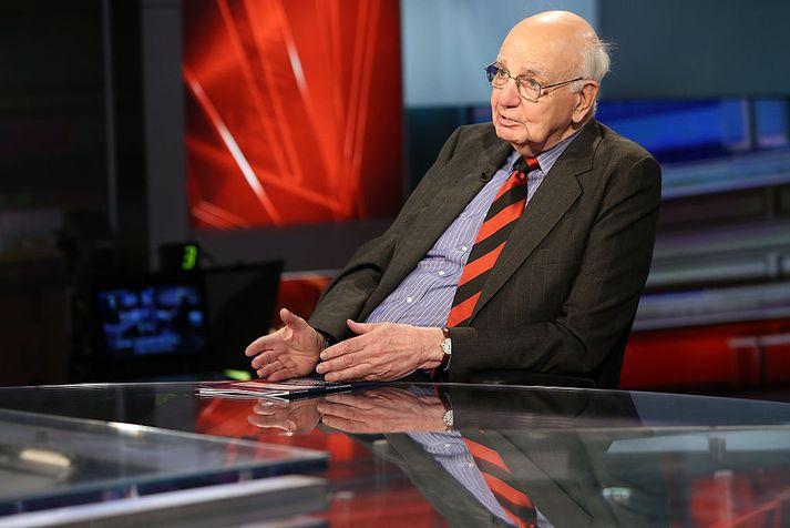 Paul A. Volcker gegndi embætti seðlabankastjóra Bandaríkjanna frá 1977 til 1987.