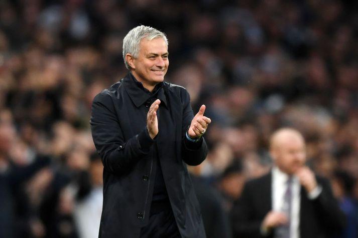 Gleðin er við völd hjá Tottenham undir stjórn Mourinho.