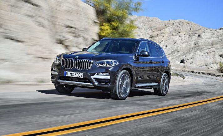 BMW X3 er einn af söluhærri bílum þýska lúxusbílaframleiðandans.