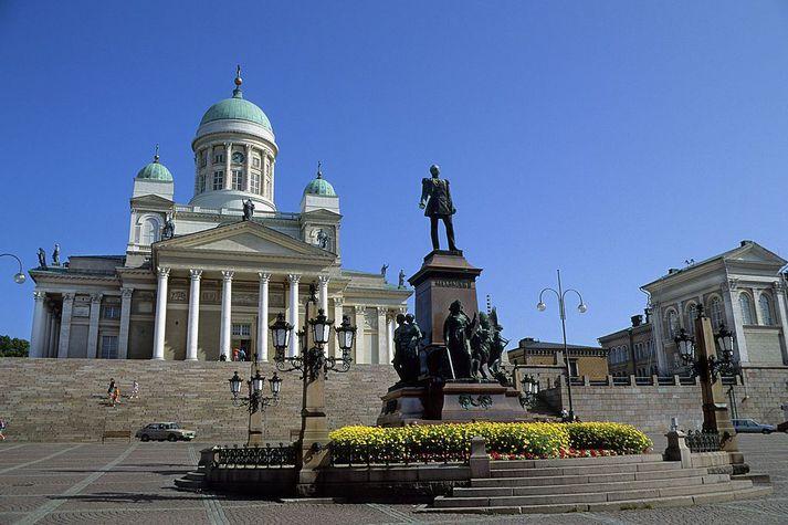 Helsinki er höfuðborg Finnlands.