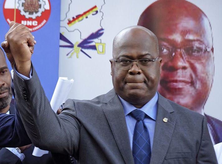 Felix Tshisekedi.
