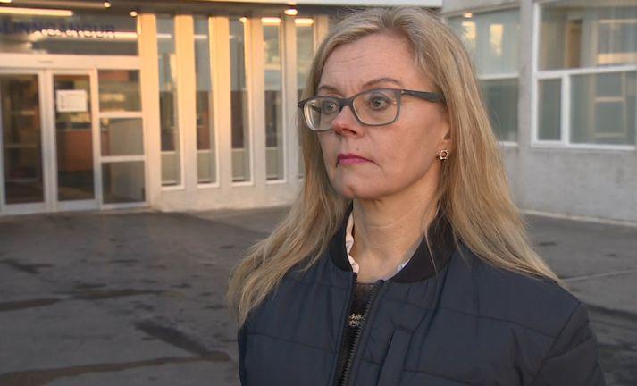 Bryndís Sigurðardóttir, smitsjúkdómalæknir á Landspítalanum.