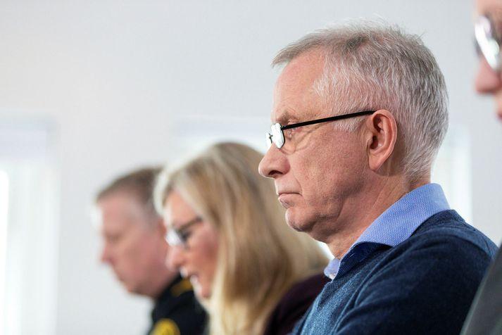 Víðir Reynisson, Alma Möller og Þórólfur Guðnason eru orðnir fastagestir á tölvuskjám og símum landsmanna.