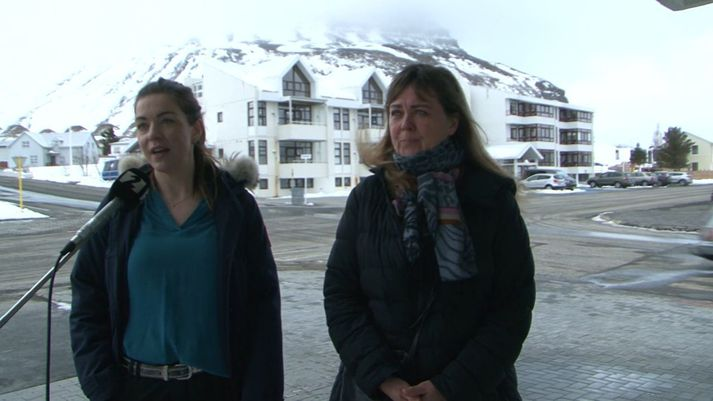Agnes Veronika Hauksdóttir og Valgerður Pálsdóttir.