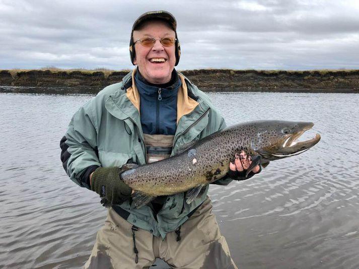 Það eru komnir 314 fiskar í veiðibókina í Geirlandsá á þessu vori.