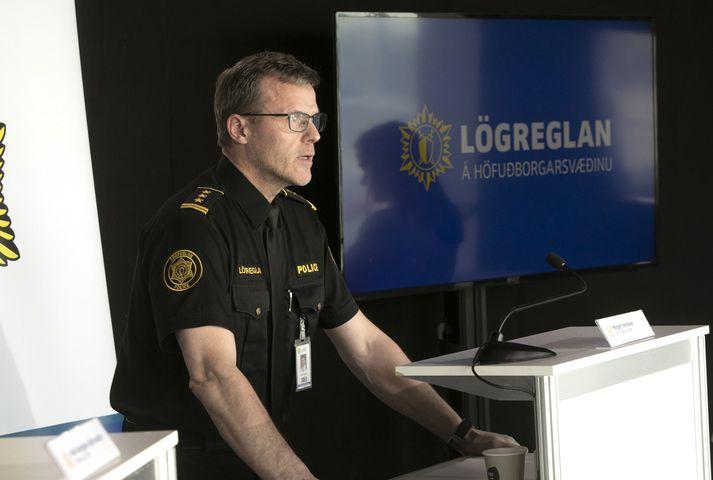 Margeir Sveinsson, aðstoðaryfirlögregluþjónn hjá lögreglunni á höfuðborgarsvæðinu.
