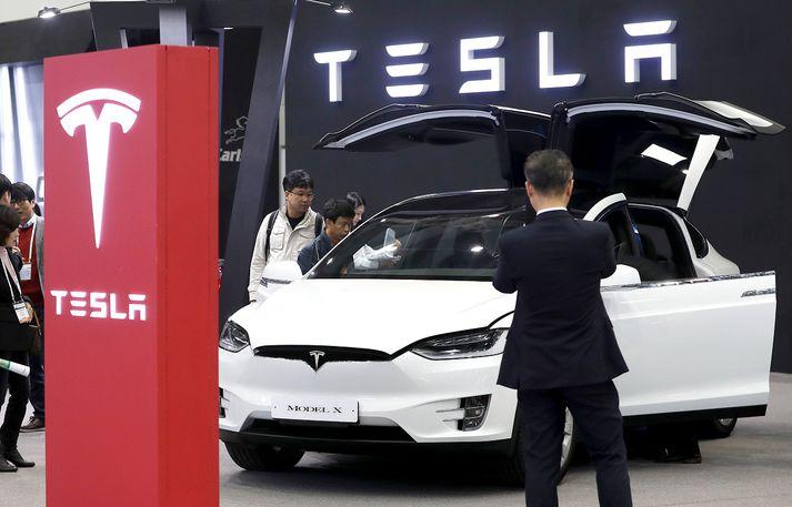 Tesla Model X er ein þriggja framleiðslugerða Tesla nú um stundir.