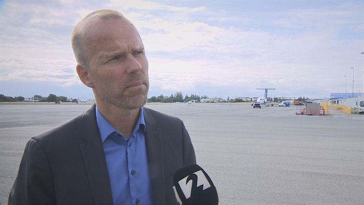 Árni Gunnarsson er framkvæmdastjóri Flugfélags Íslands ehf.
