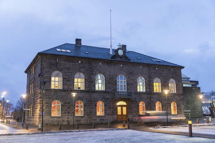 Frumvarpið var lagt fram á Alþingi í dag.