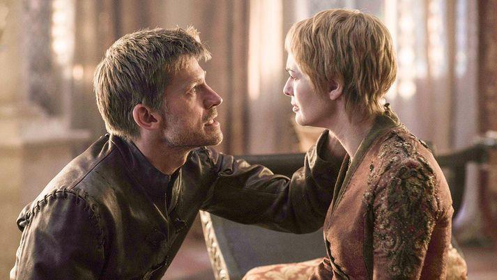 Systkinin Jaime og Cersei Lannister eiga í nánari sambandi en skipulagsfulltrúar geta sætt sig við.