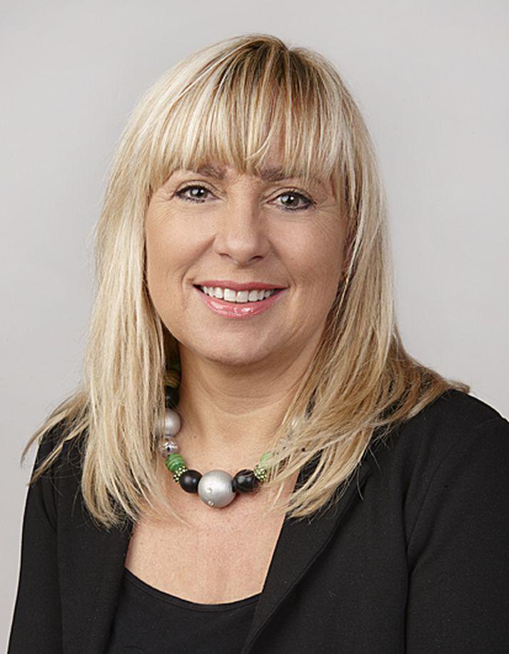 Margrét Pétursdóttir, verðandi forstjóri EY.